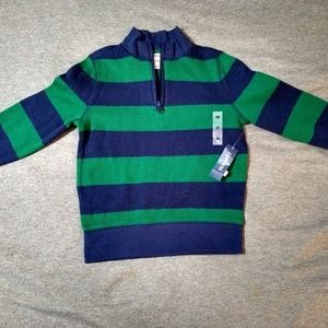 Boys Old Navy striped sweater